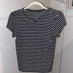 Soft and Sexy Striped Ribbed Tee